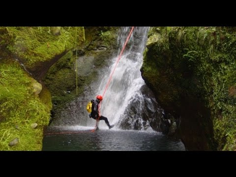 Canyoning in Azores: Terceira Island