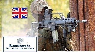 Bundeswehr snipers in urban combat