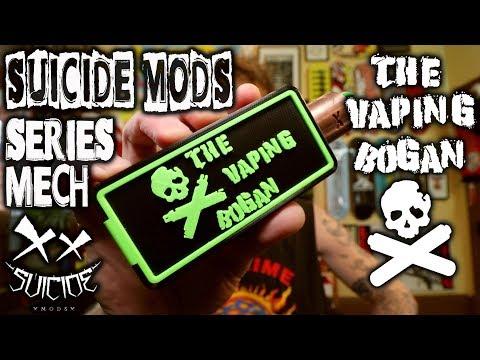 Suicide Mods Series Mech   The Vaping Bogan