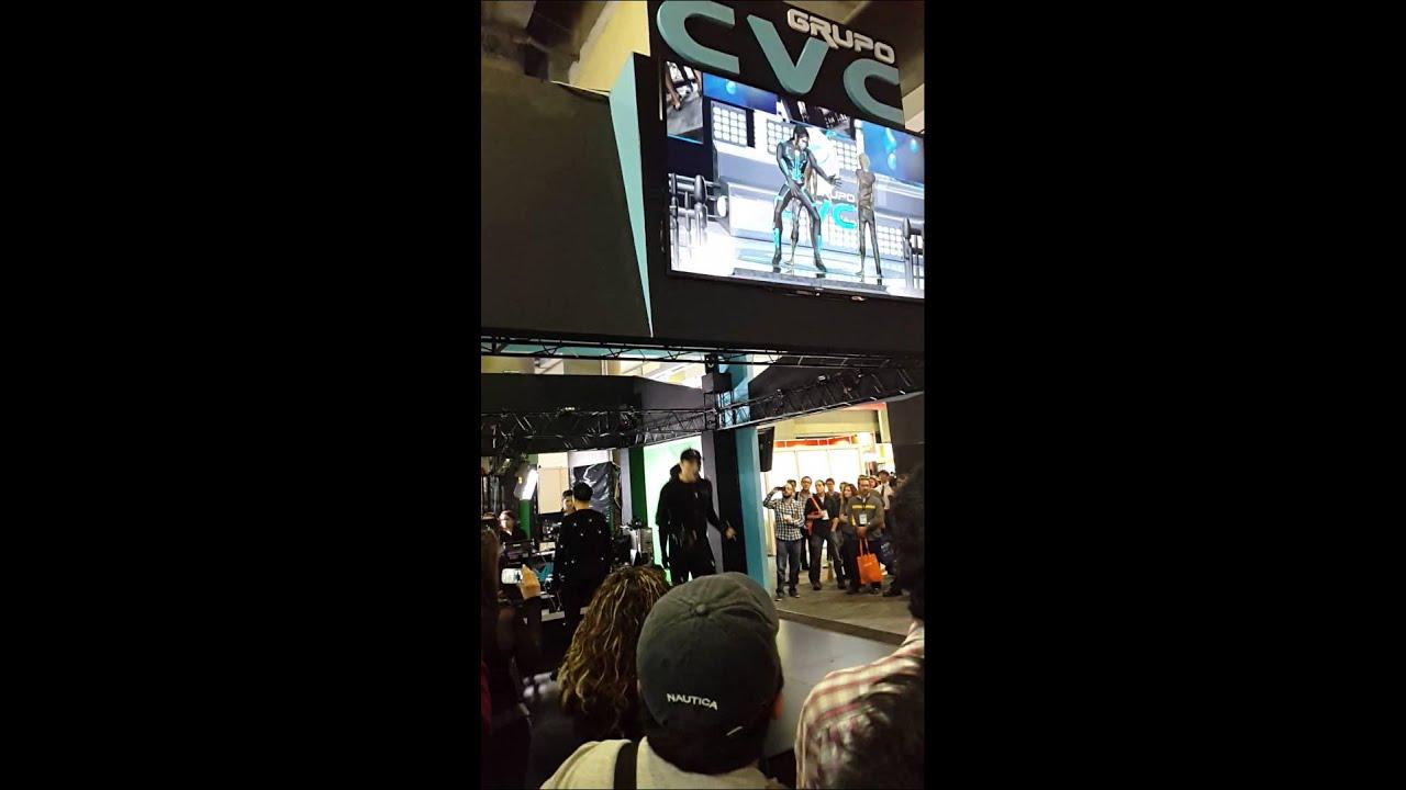 Demo De Cvc Con Doble De Michael Jackson Youtube