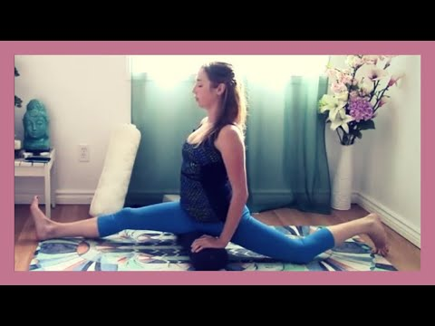 Yin Yoga Splits Training Class - Yoga for Hamstring & Hip Flexibility