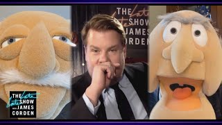 Statler & Waldorf Heckle James Cordens Monologue YouTube Videos