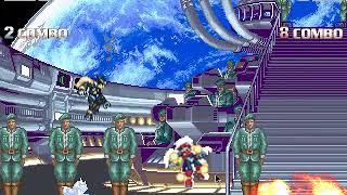 Mugen Zero And Rockman X VS Omega Zero And iX