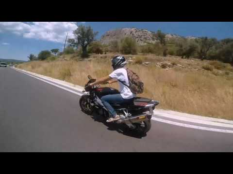 Summer motorcycle trip to Tarti Lesvos