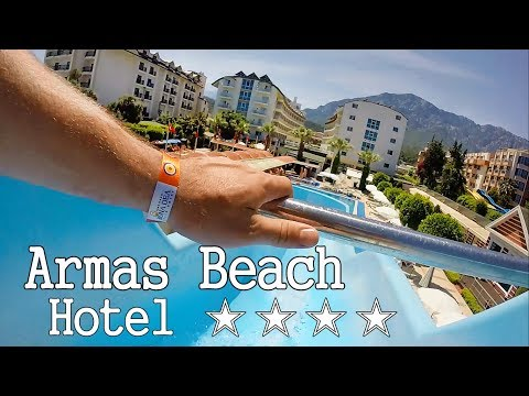 Armas Beach 4* Kemer 2017. Обзор отеля