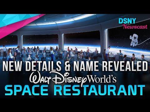 Walt Disney World's SPACE RESTAURANT Name & New Details - Disney News - 1/10/19