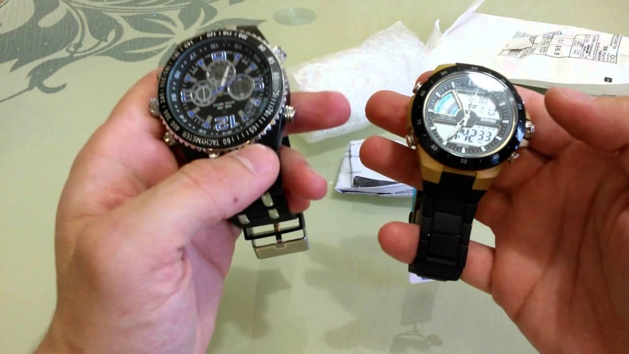 Часы SKMEI 1016 и Weide WH-1107. AliExpress. Китай. - YouTube 3feff972de04b