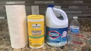 DIY Homemade Disinfectant Wipes  Clorox wipes