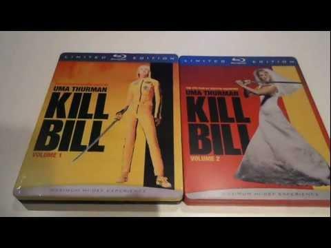 KILL BILL Vol 1 & 2 LIMITED EDITION STEELBOOK