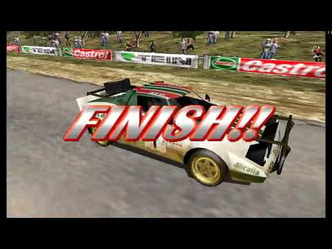 Sega Rally 2 with Custom Music - Supermodel Emulator 60FPS