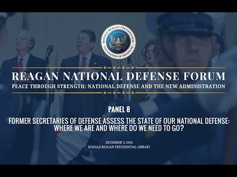 Panel 8 — 2016 Reagan National Defense Forum