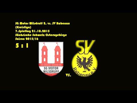2015-10-21 / 7. Spieltag / Kreisliga A / SG Motor Wilsdruff 2.-SV Rabenau