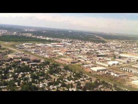 landing in Saskatoon