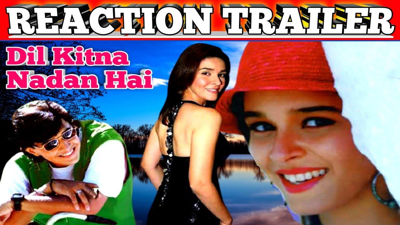 Download Dil Kitna Nadan Hai 1997|Reaction Trailer|Full Romantic Drama Movie|