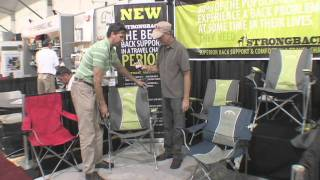 Strongback Lounge Chair Product News Report With Billy Carmen From Outdoor Retailer Gadget