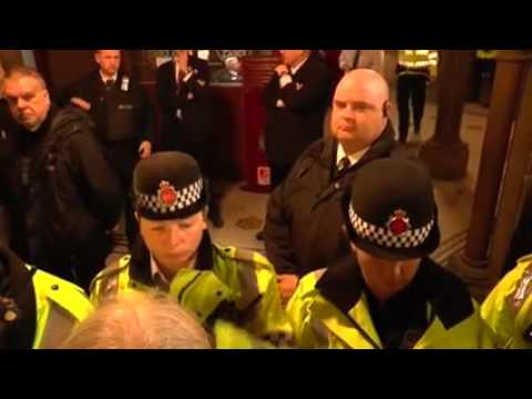 March With The Homeless - Manchester 2015