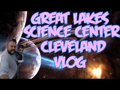 (VLOG) Me And Dom Go To Cleveland GREAT LAKES SCIENCE CENTER