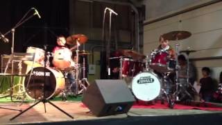 ACDC -  Love Bomb - Drums by kids