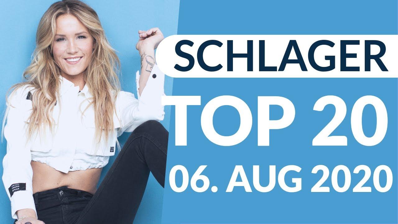 SCHLAGER CHARTS 2020 - Die TOP 20 vom 06. August