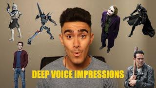 DEEP VOICE IMPRESSIONS