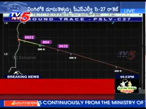 PSLVC27 Successfully Launches IRNSS-1D Satellite : TV5 News