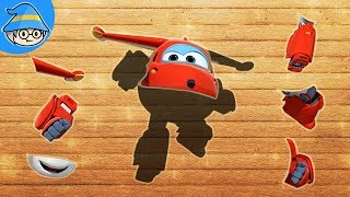 Super Wings toys episode. Super Wings cartoon puzzle game. puzzle Super Wings