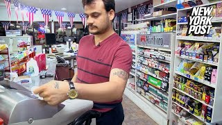 How a Gas Station Became 'Little Ellis Island' for Illegal Immigrants | New York Post