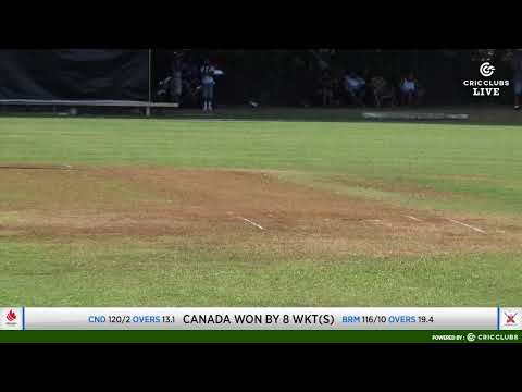 ICC Men's T20 World Cup Americas Region Final 2019: CANADA vs BERMUDA