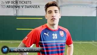 Hector Bellerin Competition 2 VIP Box Tickets Arsenal v Swansea