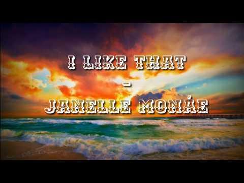 Janelle Monáe - I Like That lyrics video