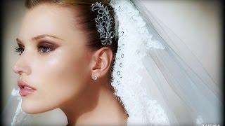 видео Свадебный макияж: для зеленых и карих глаз, для брюнеток и блондинок, советы стилистов