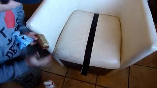 comment nettoyer 1 canapé en cuir blanc