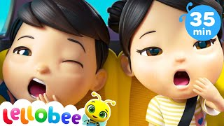 Are We There Yet Song | Baby Shark Challenge + More Nursery Rhymes & Kids Songs | Little Baby Bum