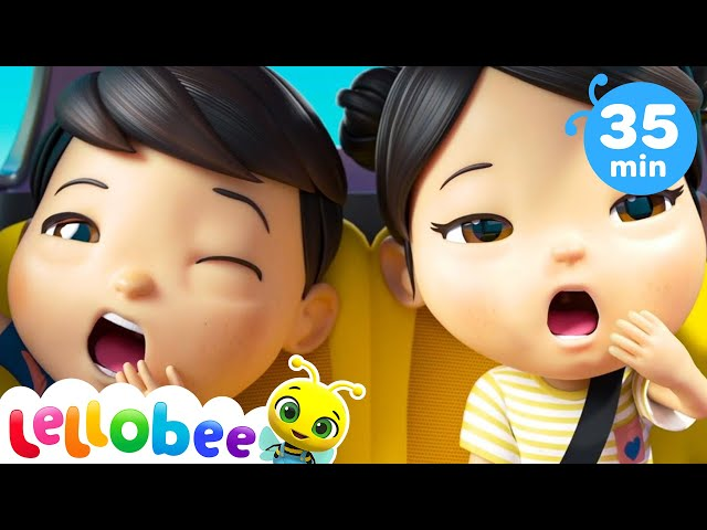 Are We There Yet Song   Baby Shark Challenge + More Nursery Rhymes & Kids Songs   Little Baby Bum