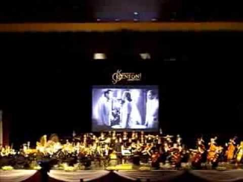 Movie music concert in Adana, Turkey