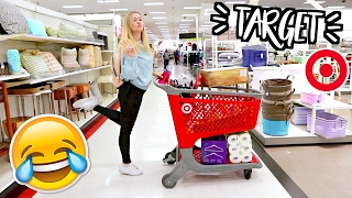 LATE NIGHT TARGET SHOPPING ADVENTURES!! AlishaMarieVlogs