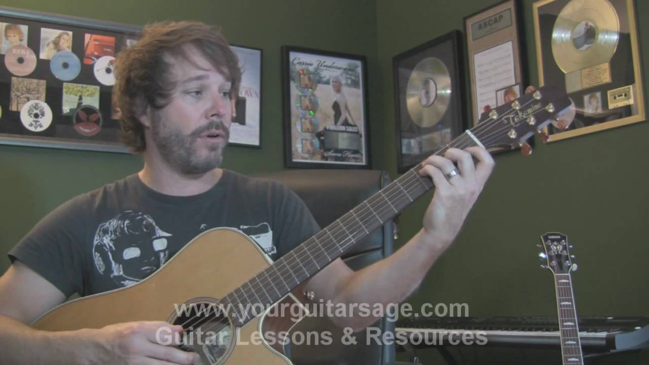 Guitar Lessons Use Somebody By Kings Of Leon Cover Chords Lesson