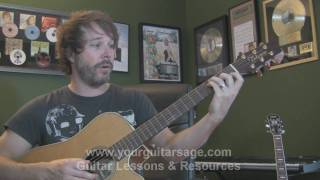 Guitar Lessons - Use Somebody by Kings of Leon - cover chords lesson Beginners Acoustic songs