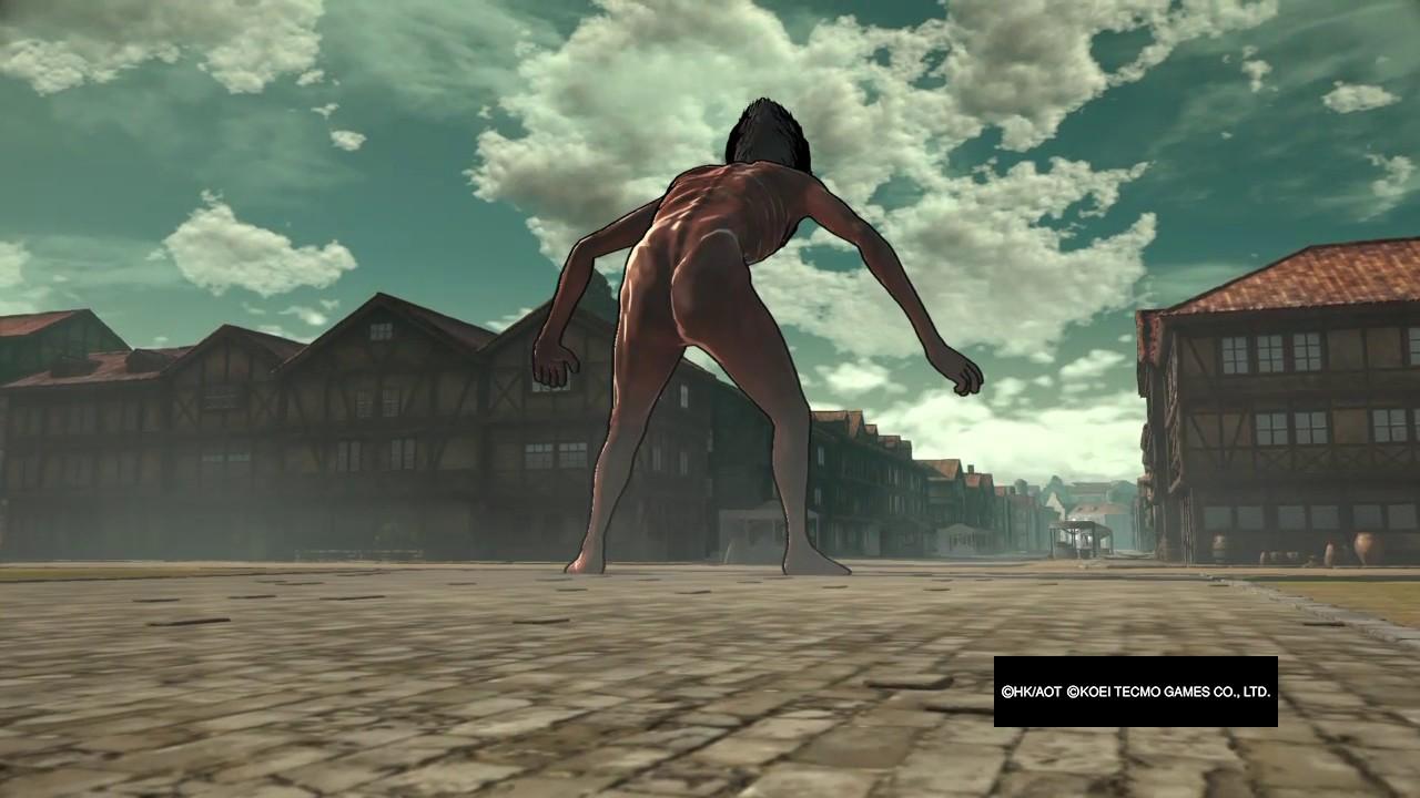 Attack On Titan Game: WTF GIANT NAKED MEN? - YouTube