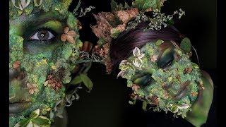 Příroda jako Monstrum | Halloween Makeup Tutorial