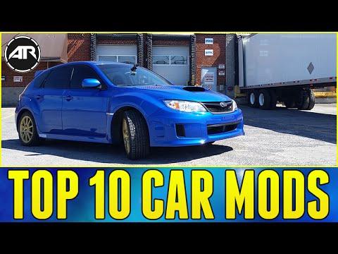 Top 10 Car Mods / Upgrades!!! (Subaru WRX STi)