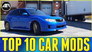 Top 10 Car Mods / Upgrades!!! (Subaru WRX STi)