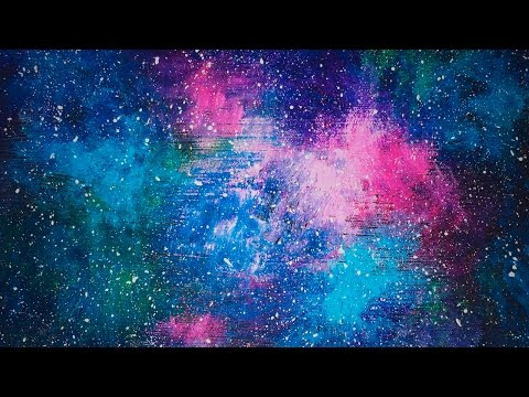 Acrylic Speed Painting | Galaxy V