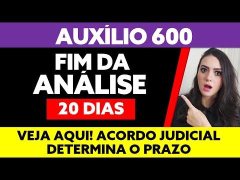 600 AUXÍLIO EMERGENCIAL EM ANÁLISE PRAZO FINAL DETERMINADO
