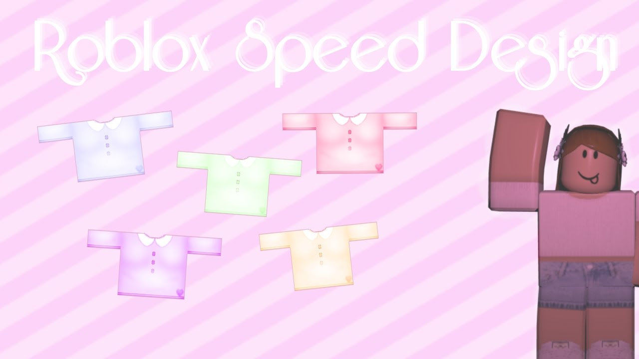 Roblox Speed Design || Pastel Collar Shirt || Emerande ...