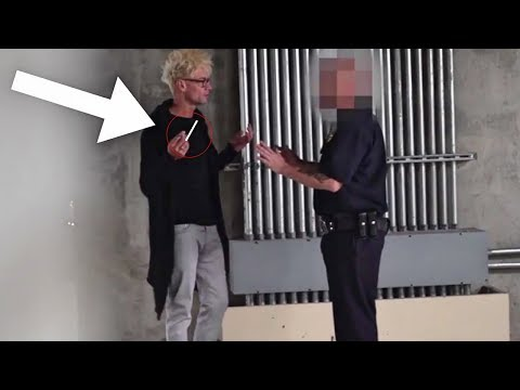 BEST Smoking Cop Pranks (NEVER DO THIS!!!) - POLICE SECURITY MAGIC PRANKS COMPILATION 2018