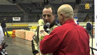 Ted Christopher TQ Twin 20 Victory Lane at Battle of Trenton 12-19-14