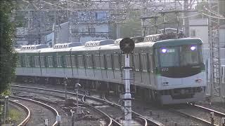 【夕方ラッシュの快速急行運用に向けた送り込み】京阪電車 6000系6013編成 回送 中書島駅 Keihan Railway Japan