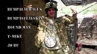 2nd Platoon, 25th ID, Kunar Afghanistan - Firefight/Javelin shots/Bomb drops