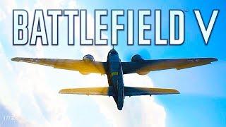 BATTLEFIELD 5 NEW PLANE MULTIPLAYER GAMEPLAY (Battlefield V Fighter Planes)